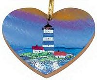 Maple Landmark Ornaments - Heart