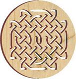 Maple Landmark Ornament - Natural - Celtic