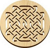 Trivet - Natural - Celtic