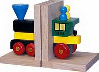 Maple Landmark  - My Engine Bookends - American Made