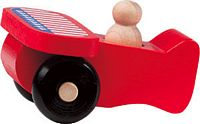 Maple Landmark Scoots - Flag Plane Toy