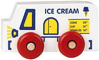 Maple Landmark Scoots - Ice Cream Truck Toy