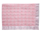Bleach White/Pink Two-Tone Diamond Weave
