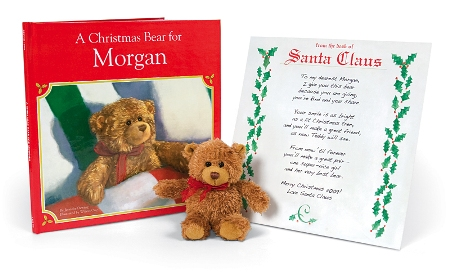 A Christmas Bear For Me Personalized Storybook - American Made