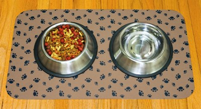 Set of 2 Large Dog Bowl Placemats Made in USA
