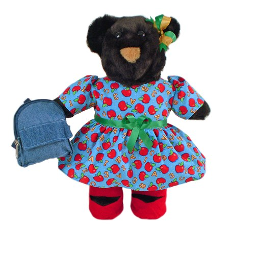 Classroom Bear Stuffed Animal Made in USA