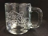 Merry Chriustmas Warm Beverage Mug Made in USA