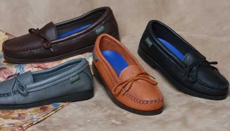 Usab2c Women S Deerskin Slip On Shoes Made In America