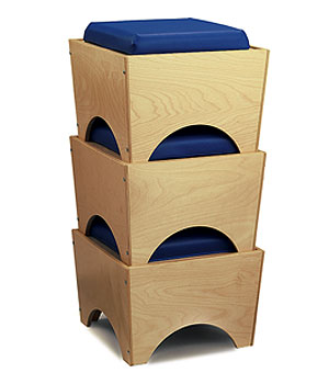 Children's Stackable Seat - Made in USA