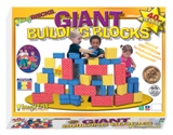 Smart Monkey Toys 40pc Giant Building Block Set