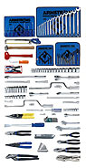 Armstrong 131 Pc. Basic Set - Tools Only - American Made- Free Shipping!
