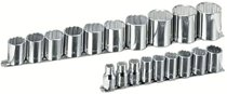 "19 Piece 12 Point 1/2"" Drive Socket Set"