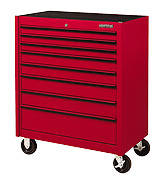 Armstrong 8 Drawer Single Bay Roller Cabinet- Free Shipping! Made in USA