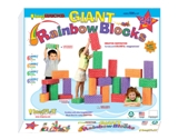 Smart Monkey Toys 24pc Giant Rainbow Blocks Set
