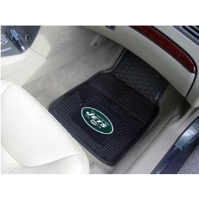 Heavy Duty NFL - MLB Vinyl Car Mats - 2 pc  - Made in America by Fanmats