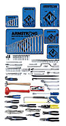 Armstrong 157 Pc. Metric Intermediate Set - Tools Only - American Made