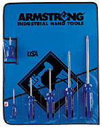 Armstrong 6 Pc. Phillips Screwdriver Set - Made in America