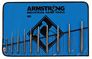 Armstrong Tools 10 Pc. Tool Steel Pin Punch Set