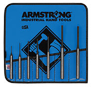 Armstrong Tools 7 Pc. Pin Punch Set - American Made