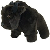 Buffalo Stuffed Toy Made in USA