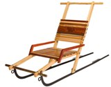 OUT OF STOCK - Mountain Boy Sledworks Double Kicksled - Made in USA
