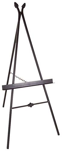 PARIS WROUGHT IRON PICTURE EASEL