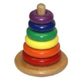 "Holgate Toys Rocky Color Cone - American Made  - <FONT FACE=""Times New Roman"" SIZE=""+1"" COLOR=""#FF0000""> On Sale Now! </font>"
