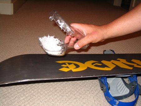 Snow Board and Ski Wax Razor - American Made