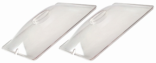 BroilKing PLASTIC LID FOR SPL-2 - CLEAR - SET OF 2 - Made in USA