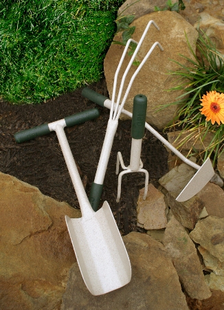 QPI Short-Handled Garden Tool Set - 4 pc Made in USA by Bully Tools