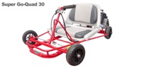 Gas Powered - (Mini Karts) Super Go-Quad 30, Red