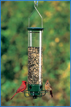 Droll Yankee Yankee Flipper Squirrel Proof Bird Feeder  - American Made