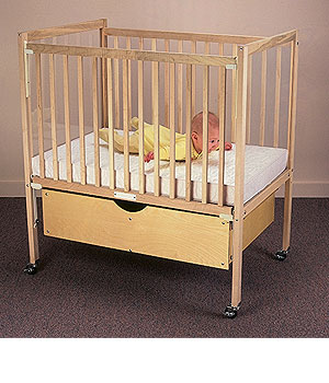 ClearView Dropside American Made Crib