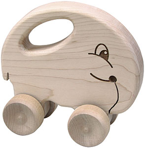 Maple Landmark Push N Pull Elephant