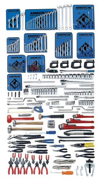 Armstrong 248 Pc. Intermediate Set - Tools Only