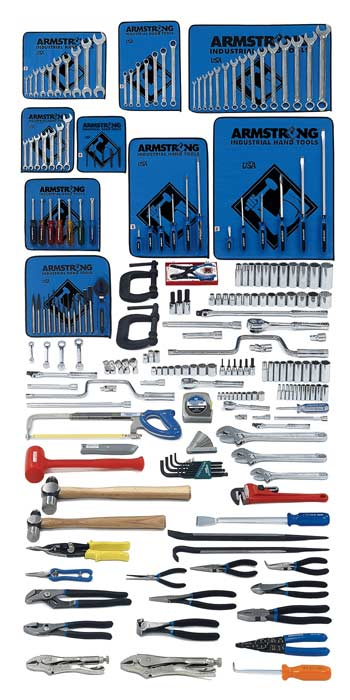 Armstrong 225 Pc. Intermediate Set - Tools Only- Free Shipping!