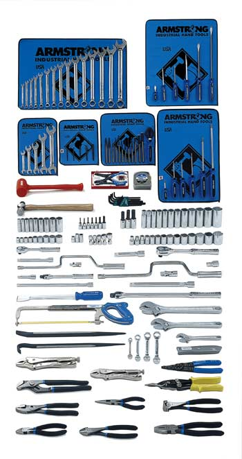 Armstrong 163 Pc. Intermediate Set - Tools Only - American Made- Free Shipping!