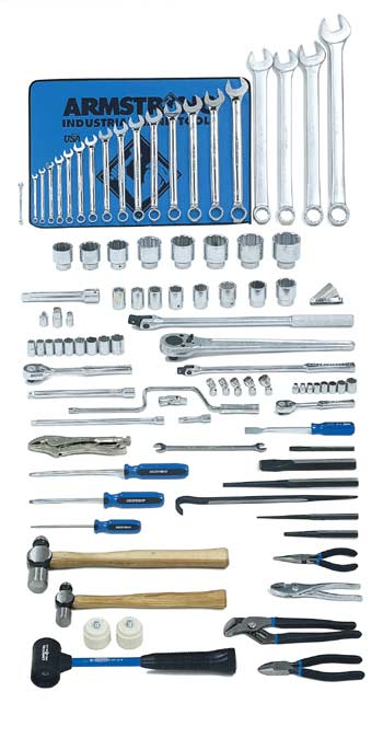 92 Pc. Heavy Equipment Set - with Industrial Series Box- Free Shipping!