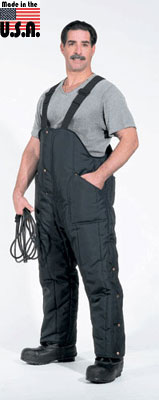 PolarWear Pants, high bib style with suspenders (rated to -55F) - American Made