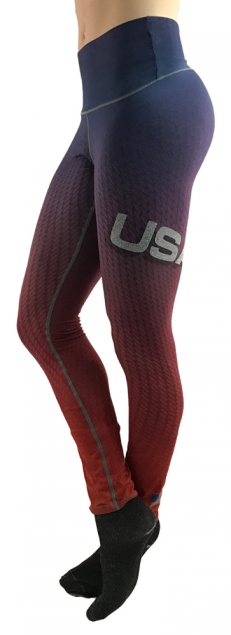 HYPRTECH BAMBOO USA Legging Made in USA