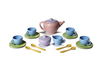 Green Toys Tea Set Made in America