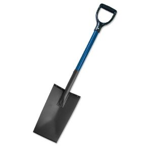 Bully Tools All Steel Spade  Professional Heavy Duty Commercial Grade Spade American Made