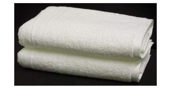 Millennium Towels Made in USA by 1888 Mills - Set of 12 Hand Towels in White