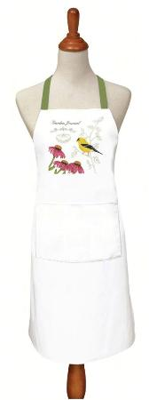 Goldfinch Apron Made in USA