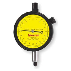 Starrett 25-161J Dial Indicator Made in USA