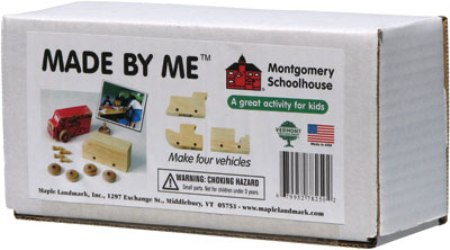 Maple Landmark Made By Me Kits - Box Set Of 4 - Made in USA