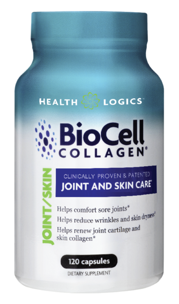 Health Logistics BioCell Collagen Made in USA- 120 Capsules