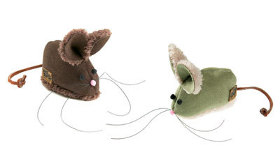 Barn Mouse Cat Toy Made in USA