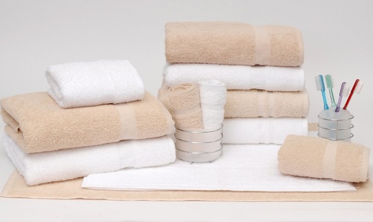 Dependability White American Made Towels by 1888 Mills