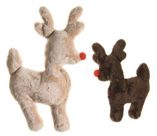 Ruff-N-Tuff  Reindeer American Made Dog Toy